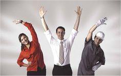 Foco em Vida Saudavel: Especialistas apontam os principais benefícios da ginástica laboral