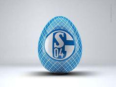 FC Schalke 04 - Bundesliga - Osterei - Fussball