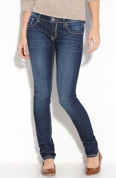 See I only WISH that jeans would fit me like this!!!