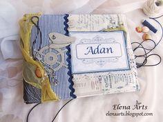 Elena Arts: Libro de firmas para La Primera Comunión de Adan.