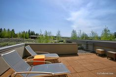 Modern Rooftop Deck in Bend, OR