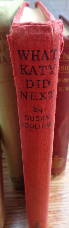 Vintage hardback book What Katy did Next Susan Coolidge Victorian era The Katy Books romance travels in Europe Regent Classics 1960s by TrooperslaneBooks on Etsy