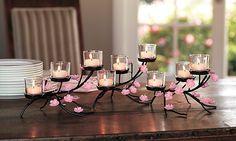 #PartyLite Cherry Blossom Centerpiece