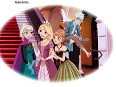Image result for frozen tangled guardians