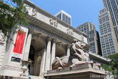 Que-ver-Nueva-York-un-dia-Ruta-Manhattan-New-York-Public-Library New York Travel, Buenas Ideas, Oasis, Louvre, Nyc, Building, Manhattan, Summer, Travel Ideas