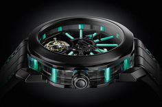 2018: Bulgari Octo Tourbillon Sapphire - There will no doubt be glossy pictures of this watch adorning Senior Editor Bhanu Chopra's wrist at Baselworld in just a few short weeks from now. The new Octo Tourbillon Sapphire comes encased in a stunning black version in DLC-coated titanium contrasting with blue. The watch offers a new interpretation of the formal purity of … Continue reading Pre-Baselworld 2018: Bulgari Octo Tourbillon Sapphire