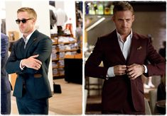 Ideal male wardrobe. Ryan Gosling - Crazy Stupid Love. Watch and learn gentleman. That stylist was phenomenal.