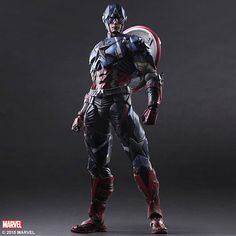Captain America: Play Arts Kai Variant
