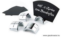 95f95e508f Asztali kártyatartó 4x2,5cm, 6 tartót és 12 kártyát tartalmaz (AP00022) -