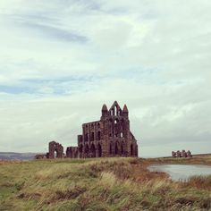 Whitby abbey Whitby Abbey, Monument Valley, Spaces, Nature, Travel, Voyage, Viajes, Traveling, The Great Outdoors