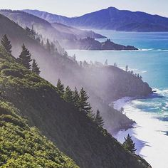 A shot on the east coast of the South Island up near Blenheim. Awesome coastline in around here. Captured by @infarawayland