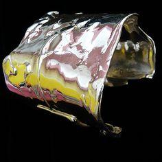 "Sterling Silver ""Scissorhand"" Cuff-fablesintheair.com"