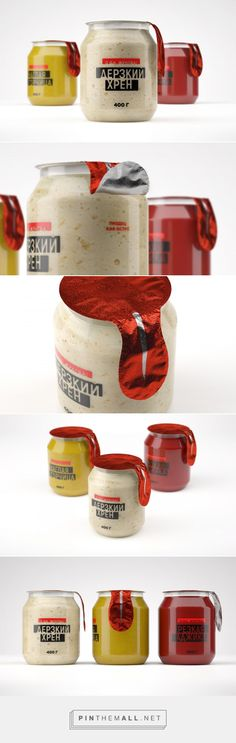 Hot Sauces Packaging Concept - Packaging of the World - Creative Package Design Gallery - http://www.packagingoftheworld.com/2018/01/hot-sauces-packaging-concept.html