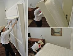 A Murphy Bed - make a room dual purpose!