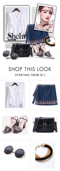 """""""shein"""" by perfex ❤ liked on Polyvore featuring WithChic and Oris"""