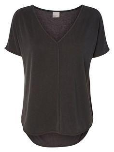 VERO MODA T-Shirt Weiches schwarz