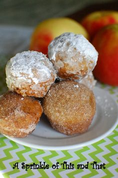 Apple Cider Duffins.  A Donut?  A muffin?  Nope, a duffin!  Just like apple cider donuts!!!