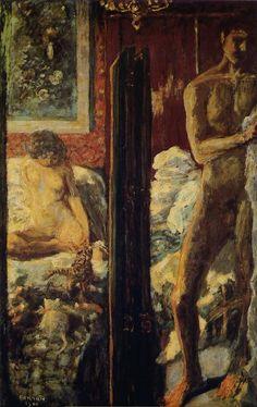 """Pierre BONNARD """"L'Homme et la Femme"""" 1900"""