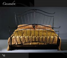 Wrought Iron Bed 01