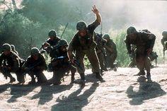 we were soldiers.