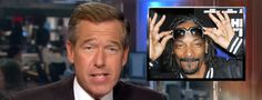 NBC's Brian Williams raps to Snoop Dogg's Gin and Juice
