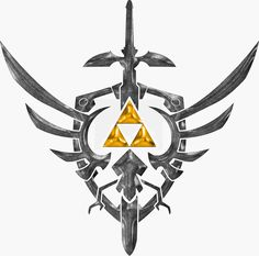 Sword, shield & tri-force #LegendofZelda
