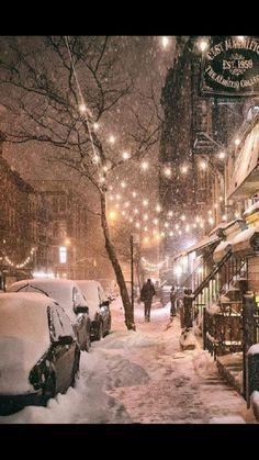 I ❤️ NY  in the winter