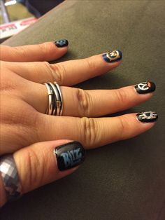 Blizzcon nail art blizzard overwatch Diablo heroes of the storm world of warcraft