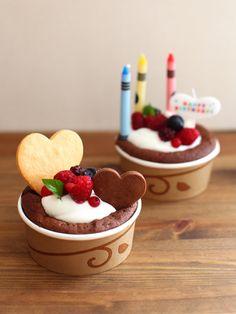 Small cake decoration 小さなバースデーケーキ などなど