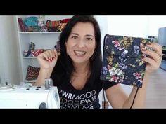 Bolsinha Mais Fácil do Mundo! Em apenas 10 minutos - YouTube Hand Lettering Alphabet, Diy Bags Purses, Small Bags, Polaroid Film, Kawaii, Youtube, Pattern, Fabric Tote Bags, Denim Bag