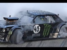 KEN BLOCK'S GYMKHANA 7 HD (Ford Mustang 4x4 with 845Hp)