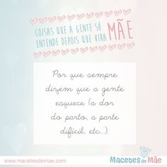 Frases de Mãe - Mom quotes - Mother Place Cards, Maternity, Place Card Holders, Words, Quotes, Scrap, Honey, Boutique, Mother Heart