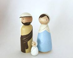 Sweet little Valentine Kokeshi Peg doll that is sure to warm the heart of your little sweetie for Valentine's Day. Little Valentine, Valentines, Nativity Peg Doll, Doll Set, Christmas Nativity, Handmade Gifts, Crafts, Woodwork, Macrame
