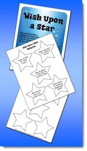 Wish Upon a Star Freebie for requesting classroom materials on Open House - Download freebie from the side bar on this page