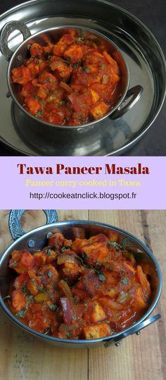 Tawa Paneer Masala/Paneer Tawa Masala