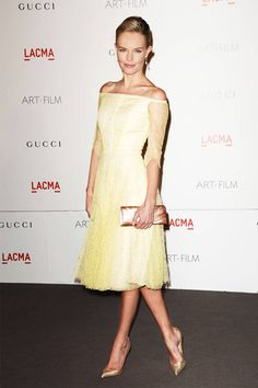 Kate Bosworth in a lace Erdem dress.