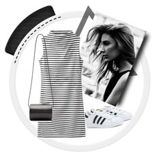 Designer Clothes, Shoes & Bags for Women Adidas Dress, Superstar, Shoe Bag, Building, Polyvore, Stuff To Buy, Shopping, Dresses, Design