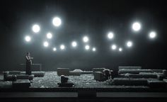 Klaus Grünberg – Set and lighting design for Verdi's Aida, Opernhaus Zürich, 2014