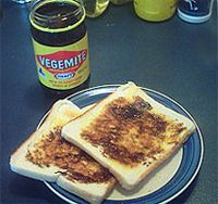Australia: anything with Vegemite on it. I really wanted to like this but couldn't. Even they said it's an aquired taste. So the search continues for Australia. Aussie Food, Australian Food, Australian Recipes, Australian Plants, Pavlova, Carne Asada, Tostadas, New Zealand Food, Mushy Peas