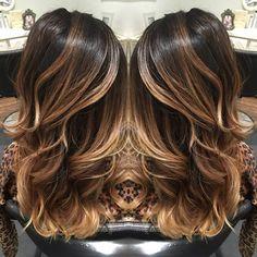 1000+ ideas about Dark Balayage on Pinterest   Dark hair highlights, Dark fall hair and Dark highlights