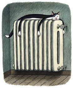 By Franco Matticchio The cat has got the right idea