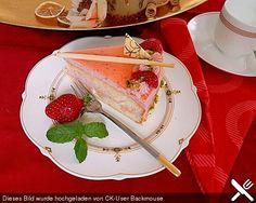 Erdbeer-Sahnetorte mit Aperol Spritz