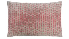 Woven in Lancashire, the delicate linear motif of the Hombre is hand-screen printed in Thorody's London studio, on linen. The cushion features the textile designer's trademark hand-drawn lines, bold design, and contemporary characters that reveals a love of early modernism with a hint of South East London style.