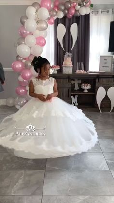 Girls Fall Dresses, Girls Special Occasion Dresses, Little Girl Dresses, Cinderella Dresses, Princess Wedding Dresses, Girls Communion Dresses, Sewing Kids Clothes, Baby Frocks Designs, Wedding Girl