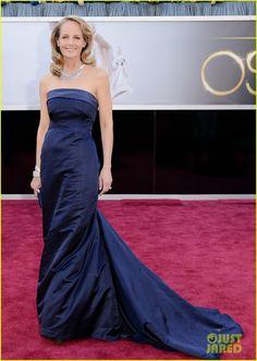 Helen Hunt - Oscars 2013 Red Carpet | helen hunt oscars 2013 red carpet 01 - Photo Gallery | Just Jared
