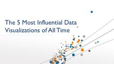 the-5-most-influential-data-visualizations-of-all-time by Tableau Software via Slideshare