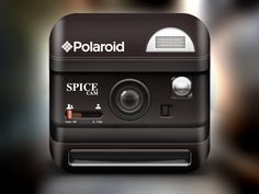 Dribbble - Polaroid Icon by Alex Bender