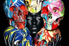 By Rankin and Damien Hirst