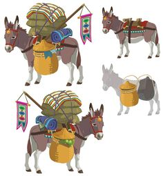 Donkey from The Legend of Zelda: Breath of the Wild
