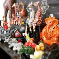 #african #animals from #Bangladesh, #India, #Indonesia, #Kenya, #Pakistan & #Thailand! #fairtrade #handmade #elephants #giraffes #zebras